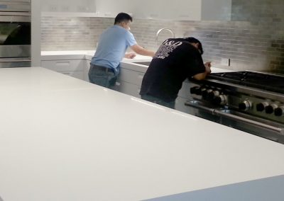 Stone Surgeon - White Slate Polished Counter top