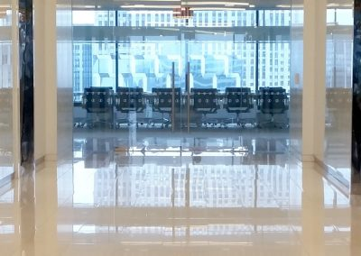 Stone Surgeon - Office Building White Marble Polished Walls and Floor