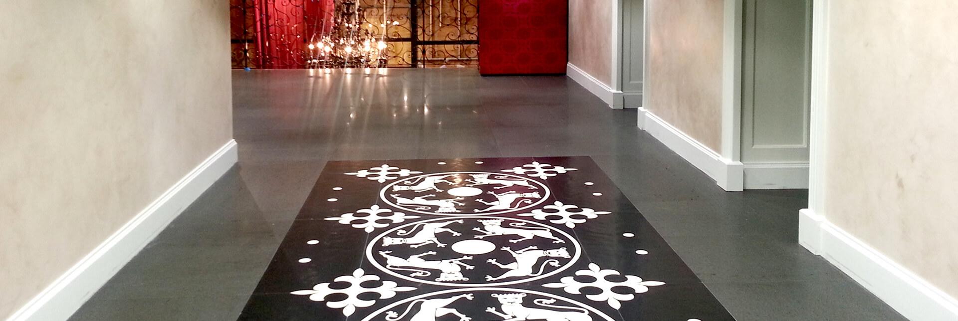 Stone Surgeon - Granite and Slate Floor Tile
