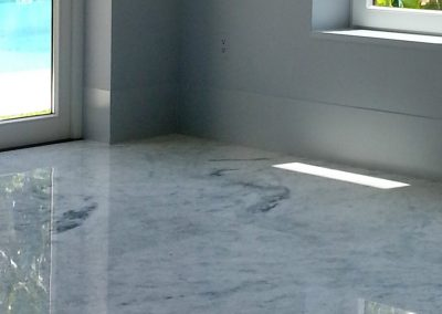 Stone Surgeon - White Cleaned Marble Floor