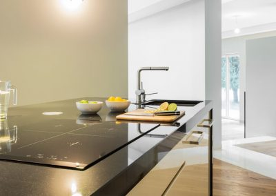 Stone Surgeon - White and Black Restored Marble Counter top
