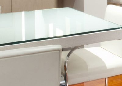 Stone Surgeon - White Clean Marble Dining Table